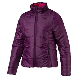 Puma Ess Padded Jacket G Dark Purple Çocuk Mont