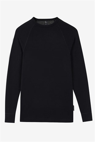 Skechers Thermal U Crew Neck Long Sleeve Erkek Tişört