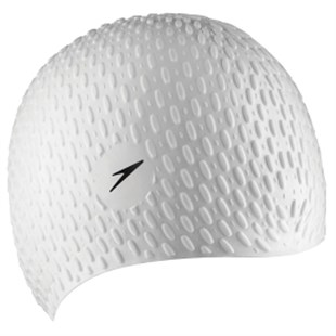 Speedo Bubble Cap Af White Bone